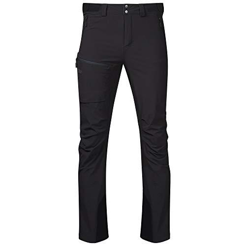Bergans Breheimen Pantalon Softshell Homme, Black/Solid Charcoal Modèle L 2021