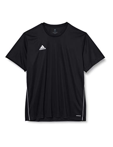 adidas Herren CORE18 JSY T-Shirt, Black/White, XL