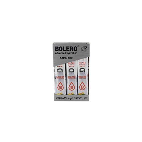 Bolero - Stick Bebidas Bolero - 3g para 500ml - Te al melocotón, Caja 12 Unidades