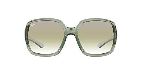 Ray-Ban 0RB4347 Gafas, TRANSPARENT GREEN, 60 Unisex Adulto