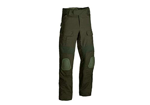 Invader Gear Predator Combat Pants Kampfhose Airsoft Army Paintball Outdoor Rippstop Hosen (L/Long, Olive)
