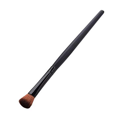 MERIGLARE Foundation Eyeshadow Makeup Brush Highlight Eyeliner Blending Blush Brush - Fard à paupières rond