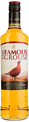 The Famous Grouse Finest Blended Scotch Whisky, intensiver und süßer Nachklang, 40{5de19d17d600e99fc0f0c14300599edca35f845099eba342c8349692cf87db0b} Vol, 1 x 0,7l