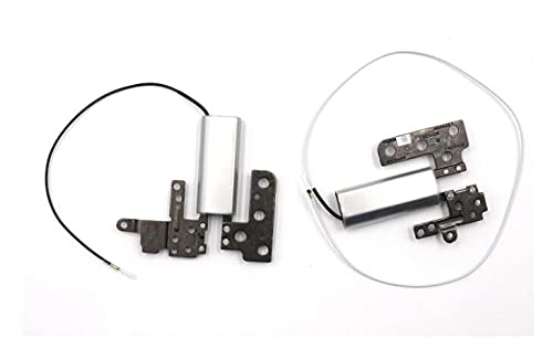 Replacement for Lenovo YOGA 710 710-14 710-14ISK 710-14IKB Series LCD Screen Hinges L&R Sets (Silver)