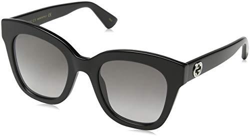 Gucci Damen GG0226S 002 Sonnenbrille, Braun (2/Brown), 56