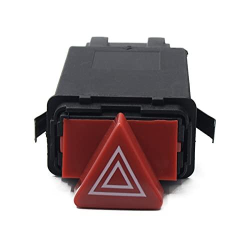 ZHIXIANG Nuevos Accesorios Master Hazard Switch Button Button Fit para Audi A3 A4 B5 A6 C6 OEM 8D0 941 509H 8D0941509K