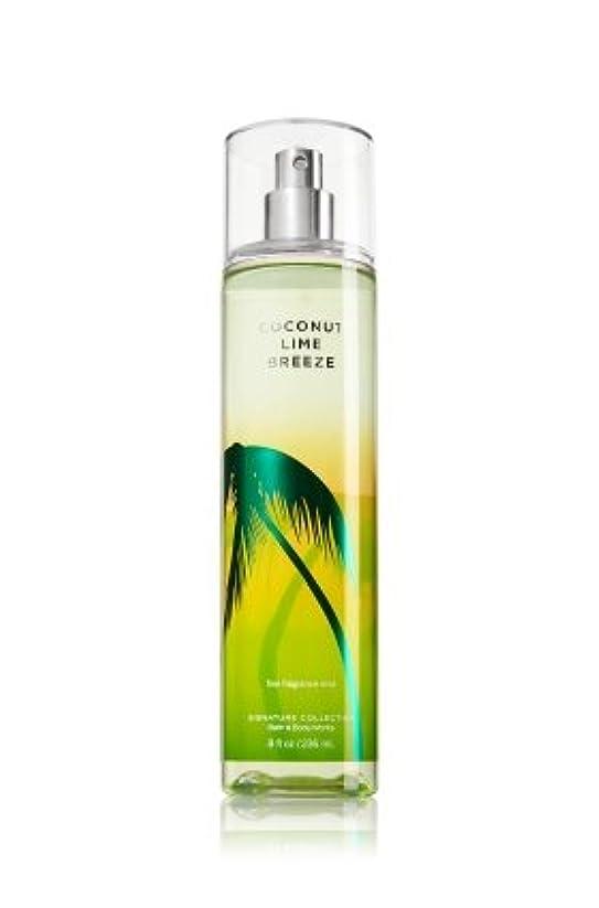 取り壊す場所変換【Bath&Body Works/バス&ボディワークス】 ファインフレグランスミスト ココナッツライムブリーズ Fine Fragrance Mist Coconut Lime Breeze 8oz (236ml) [並行輸入品]