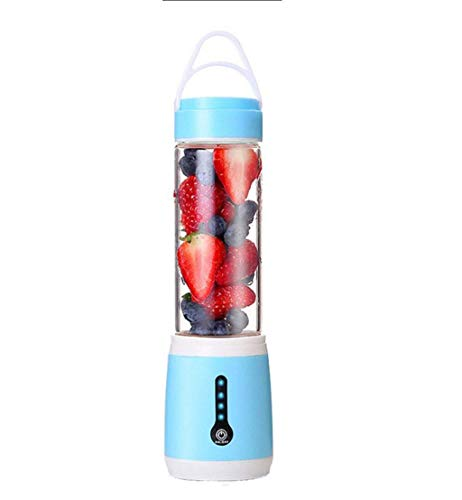 Máquinas de exprimidor, Copa de jugos eléctricos para el hogar Mini Portátil Portátil Mini Portátil Multifunción Multifunción Fruta y mezclador de jugo de vegetal (Color: Azul) HAIKE ( Color : Blue )