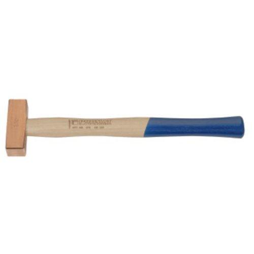 Kupferhammer Hickorystiel , Gewicht : 1000 g, Stiellänge : 360 mm