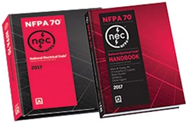 NFPA 70 National Electrical Code NEC Looseleaf And Handbook Set 2017 Edition
