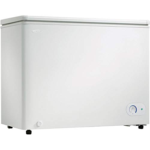 Danby 7.2 Cubic Feet Chest Freezer with Energy Efficient Foam Insulated Cabinet and Lid, White