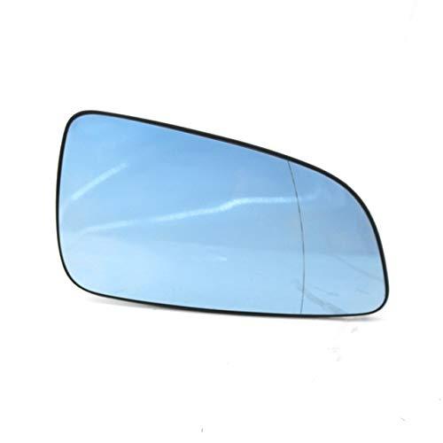 Cubiertas Espejo retrovisor Coche azul Izquierda Derecha Espejo retrovisor de cristal del...