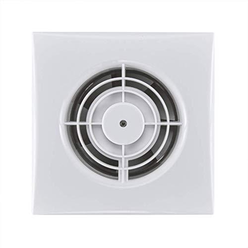 STRAW Ventilador, Blanco De Techo Cuadrada O De Montaje En Pared Extintor, Tubería De Baño Ventilador Axial Silencioso