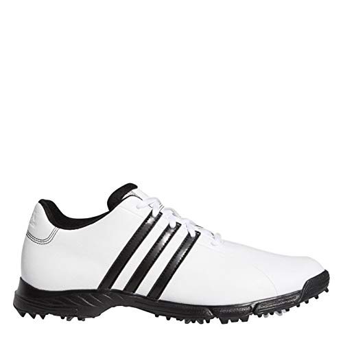 adidas Golflite Golf Shoes Mens Gents Spiked Laces Fastened Comfortable Fit White UK 10 (45)