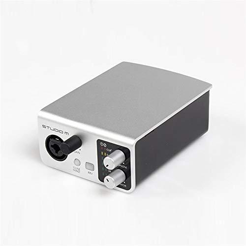 DLY externe geluidskaart mobiele telefoon live zingen opnemen laptop USB 1 ingang 2 uitgang professionele audio-interface stabiel