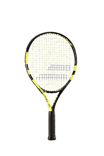Babolat Nadal Jr 19 Raquetas de Tenis, Unisex niños, Negro/Amarillo, 0000