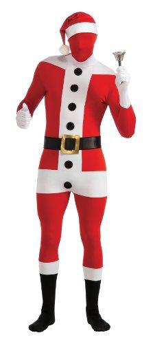 Santa Claus - 2nd Skin - Costume Adulte Fancy Dress - XL - 5'10 \