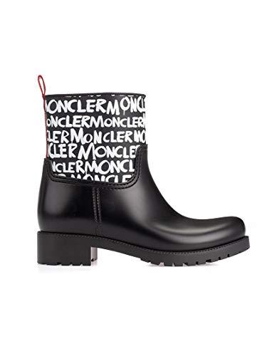 Moncler Luxury Fashion Damen 202430001A7W998 Schwarz PVC Stiefeletten | Herbst Winter 19
