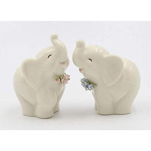Cosmos Gifts 61873 Dollymama Lady Perfection-Spicey Salt and Pepper Shaker Green