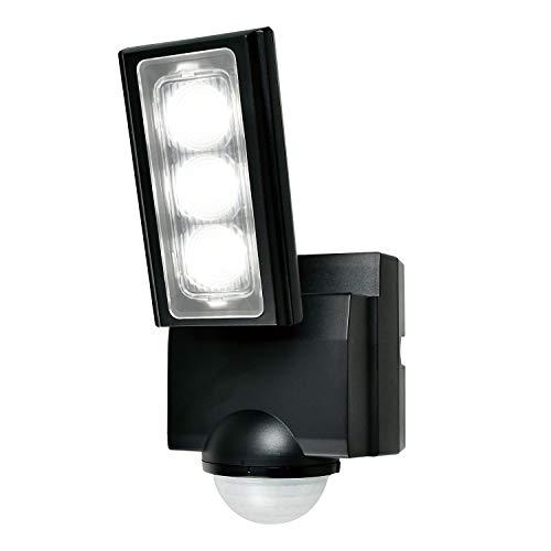 エルパ 乾電池式 センサーライト 1灯 省エネ 安心の防水仕様 広範囲照射可能 フラッシュ・赤点滅機能搭載 ESL-311DC