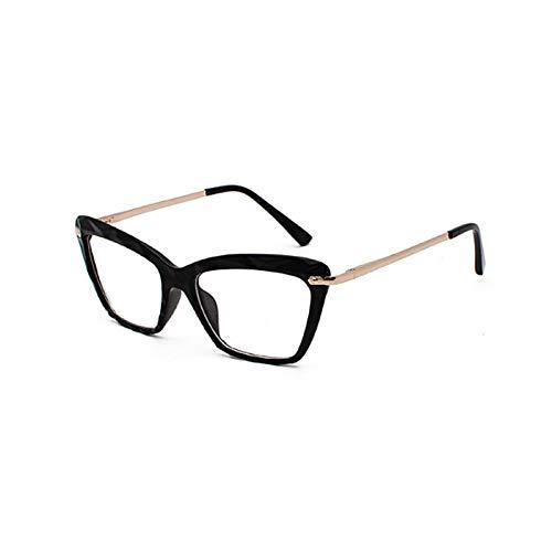 NJJX Gafas De Sol De Ojo De Gato De Gran Tamaño, Gafas De Sol De Moda Para Mujer, Gafas Elegantes Para Mujer 01