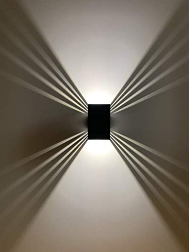 LED Außenwandlampe weißes Licht 12W wasserdicht Garten Treppe Wandbeleuchtung einstellbarer Abstrahlwinkel | ShineLED-Outdoor 2.0 SpiceLED