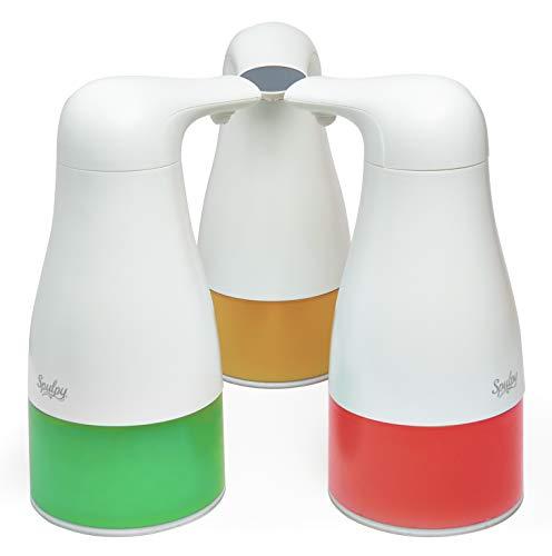 Spulpy Automatischer Seifenspender 250ml, Freihändiger Touchless Elektrischer Seifenspender Mit Sensor, Berührungslos Automatischer Schaumseifenspender, Flüssigseifenspender für Badezimmer und Küche