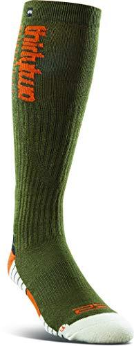 Thritytwo TM - Calcetines de merino para hombre - verde - Large/X-Large