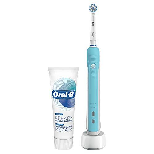 Oral-B 80317520 cepillo eléctrico para dientes Adulto Cepillo dental oscilante Azul, Blanco...