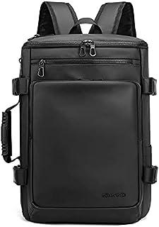 Multi-Shape Transformation School Laptop Backpack Shoulder bag For Men Large Capacity Schoolbag Waterproof - 1204 Black