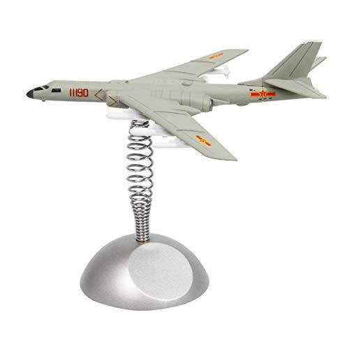 sharprepublic Modelo de avión Militar Fighter Home Copany Coche Mesa Escritorio Regalo Decorativo, Parte Inferior Viene con Cinta de Doble Cara para una fácil - Cazadora Bomber