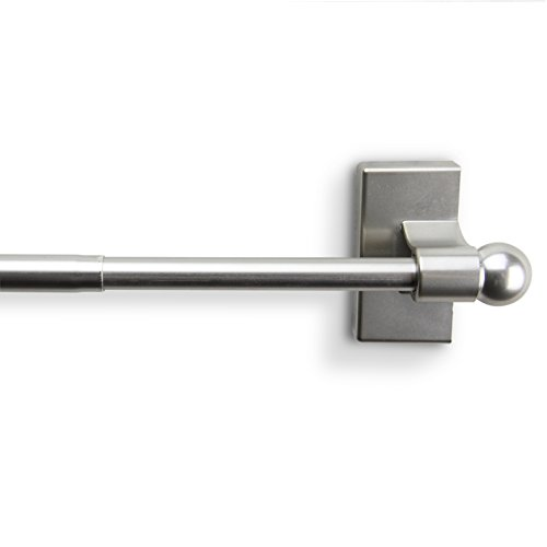 Rod Desyne MAG15 Magnetic Curtain Rod 1730 inch Satin Nickel