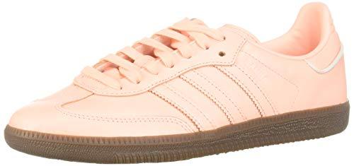 Adidas Samba OG-B44691 Zapatillas para Mujer, Clear Orange/Footwear White, 8.5