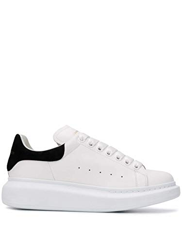Alexander McQueen Luxury Fashion Damen 553770WHGP79061 Weiss Leder Sneakers | Jahreszeit Permanent
