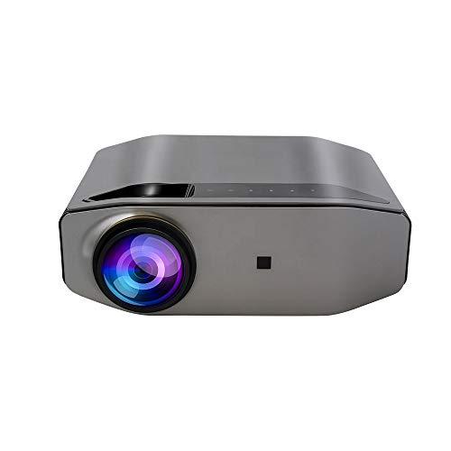 QUARKJK Projetor Full HD 6500 Ls 1920 X 1080P Home LED Projetor USB Cinema Theater Projetor HD com conexão iOS/Android, HDMI, PS4, VGA, USB para entretenimento em casa e atividades ao ar livre