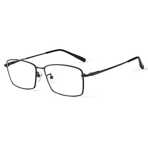 Gafas De Lectura Ultraligeras De Titanio Puro Hombre Antirradiación Fatiga Luz Azul HD Anciano Presbicia Hipermetropía Gafas Ópticas Con Dioptrías +1,00 A +3,00