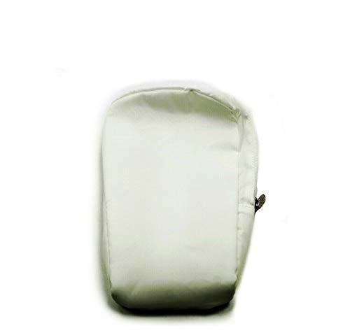 White Pouch Travel Zip Case Weiß Koffer For Philips Lumea Precision Plus IPL SC2000 SC2001 SC2002 SC2003 SC2004 SC2005 SC2006 SC2007 SC2008 SC2009 422210019221