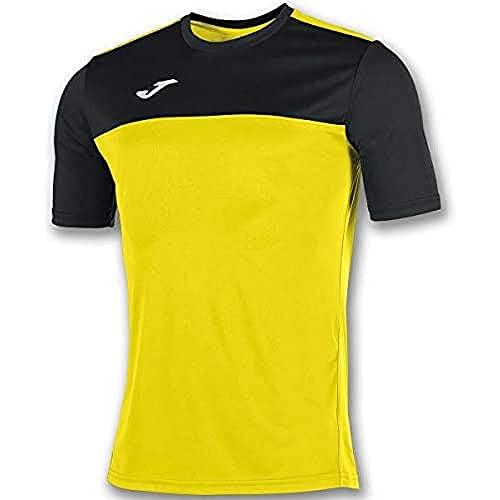 Joma Winner Camisetas Equip. M/C, Hombre, Amarillo Negro, L