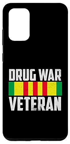 Galaxy S20+ Veteran Shirt Drug War Tees Men Women Teens USA Freedom Gift Case