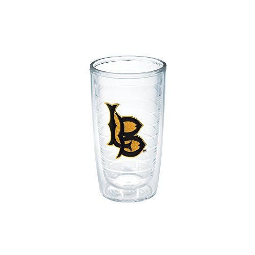 Tervis 1042345 Ca State University Long Beach Emblem Individual Tumbler, 16 oz, Clear