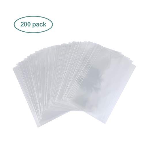 /100pcs Ounona sacchetti di plastica trasparente con chiusura adesiva Seal display imballaggio bag 25/x 40/cm/