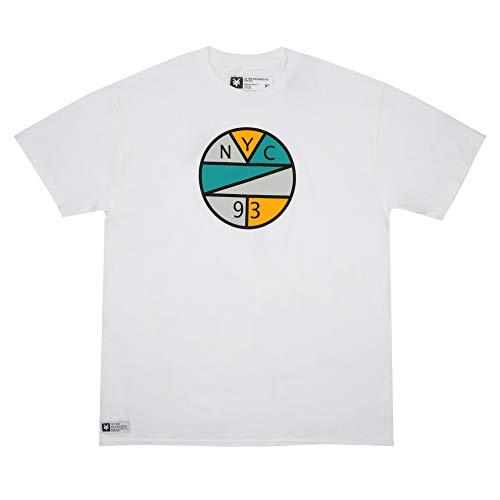 Zoo York Herren NYC Sphere T-Shirt, Weiß (White WHT), X-Large