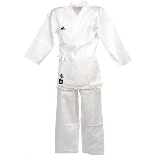 adidas Karate Kumite-Gi K220S Grand Master 160 Gr. 140, Weiß - weiß