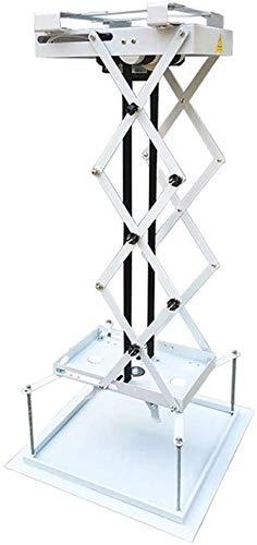 Kacsoo - Soporte de proyector eléctrico motorizado de 70 cm, Control Remoto para Cine, Iglesia, salón, Escuela con Motores Dobles y Carga máxima de 15 kg