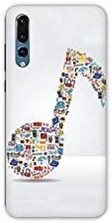Case for Samsung Galaxy A50 Musique - Note Musique B