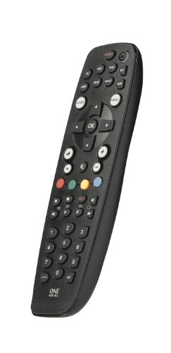 One For All URC2981 OFA8  - Control remoto universal para 8 aparatos (TV, TDT, DVD/Blu-ray, Multimedia y Audio), Negro