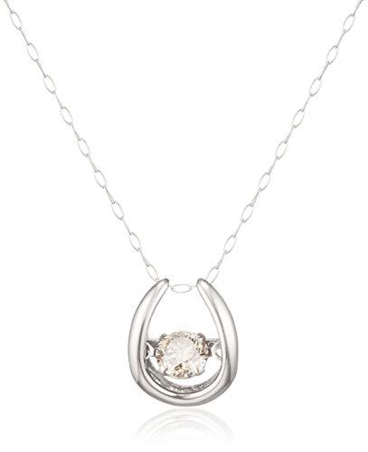 [ディーコレクション] D-COLLECTION プラチナ ダイヤモンドネックレス 0.3ct(ダンシングストーン) DFTW1564PT