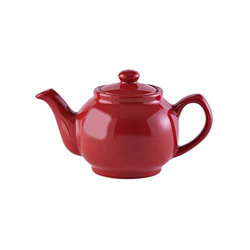 Price & Kensington 0056.613 - Tetera, Capacidad para 2 Tazas, tamaño pequeño, Color Rojo