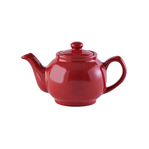 Price & Kensington Brights Red 2Cup Teapot, Multi-Colou