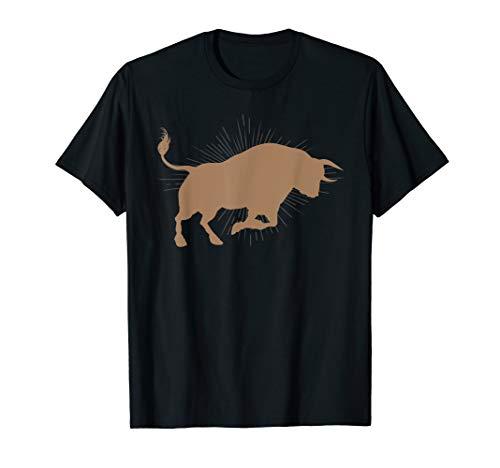 Bull Riding Rodeo Cool Cowboy Rider Birthday Gift T-Shirt